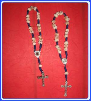 RS0003X Peace Stone Rosary of Our Lady of Medjugorje